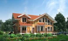 Проект деревянного дома 11-70