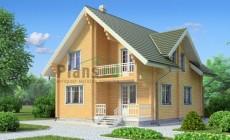 Проект деревянного дома 11-71
