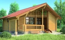 Проект деревянного дома 11-82