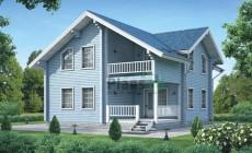 Проект деревянного дома 11-96