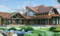 Проект деревянного дома 12-06