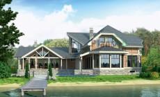 Проект деревянного дома 12-19