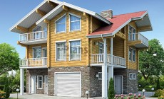 Проект деревянного дома 12-79