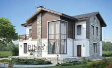 Проект кирпичного дома 40-95
