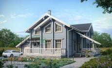 Проект деревянного дома 12-46