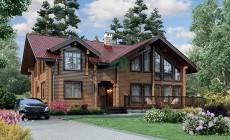 Проект деревянного дома 12-62