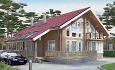 Проект деревянного дома 12-67