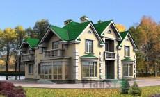 Проект кирпичного дома 30-24