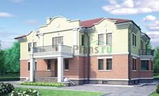 Проект кирпичного дома 30-86