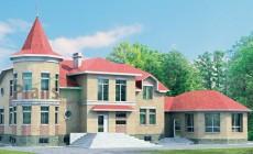 Проект кирпичного дома 31-22