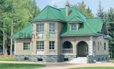 Проект кирпичного дома 32-44