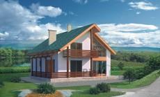 Проект кирпичного дома 33-94