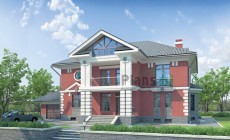 Проект кирпичного дома 34-54