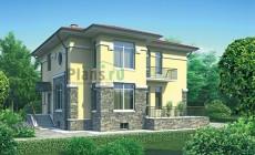 Проект кирпичного дома 35-63