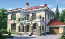 Проект кирпичного дома 35-75