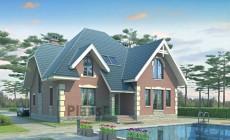 Проект кирпичного дома 36-01