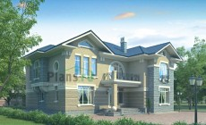 Проект кирпичного дома 36-25