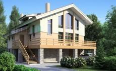 Проект кирпичного дома 36-26