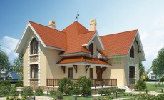 Проект кирпичного дома 36-46