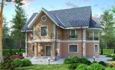 Проект кирпичного дома 36-47