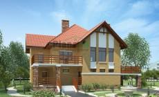 Проект кирпичного дома 36-48