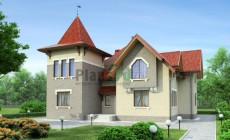 Проект кирпичного дома 36-49