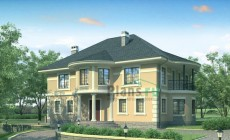 Проект кирпичного дома 36-52