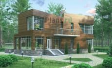 Проект кирпичного дома 36-54