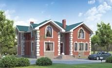Проект кирпичного дома 36-60