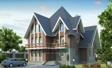 Проект кирпичного дома 36-71