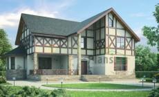 Проект кирпичного дома 36-72
