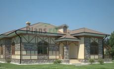 Проект кирпичного дома 36-73