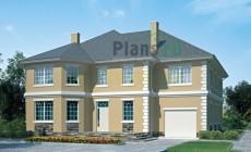 Проект кирпичного дома 36-75