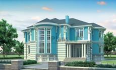 Проект кирпичного дома 36-76