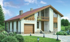 Проект кирпичного дома 36-78