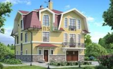 Проект кирпичного дома 36-80
