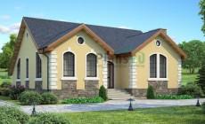 Проект кирпичного дома 36-85