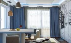 Квартира-студия в ЖК Манхэттен