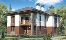 Проект кирпичного дома 41-29