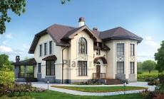 Проект кирпичного дома 41-43