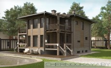 Современные проект дома №1565