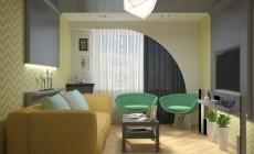 Дизайн спальни 17 м2