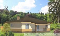 Проект одноэтажного дома №1535