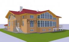 Проект кирпичного дома 41-60