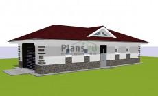 Проект кирпичного дома 41-63