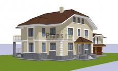 Проект кирпичного дома 41-68