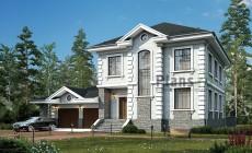 Проект кирпичного дома 41-70