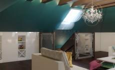 Дизайн дома 350 кв.м в стиле арт-деко. Зона отдыха- 3 этаж