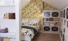 Дизайн дома 260 кв.м в стиле классика с элементами прованса. Кабинет