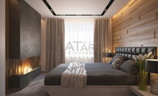 Дизайн квартиры в современном стиле с элементами эко-стиля 114кв.м.